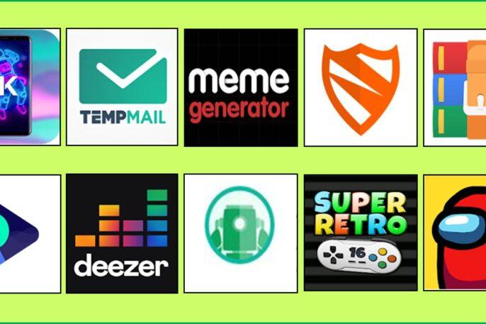 Aplicaciones y juegos para android.