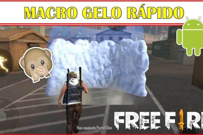 Poner paredes de hielo mucho más rápido en free fire.