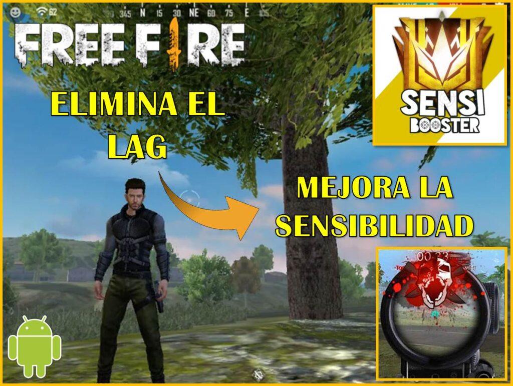 Eliminar el lag de Free fire gracias a esta aplicación.